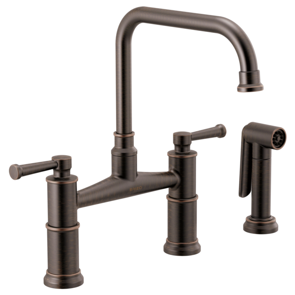 Artesso - BRIDGE FAUCET WITH SIDE SPRAYER