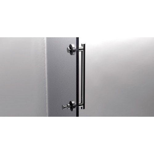 SHOWER DOOR BAR 300 + HOOK 152940