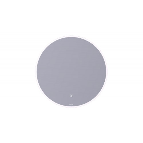NM18008N-L Round Frame Mirror With LED