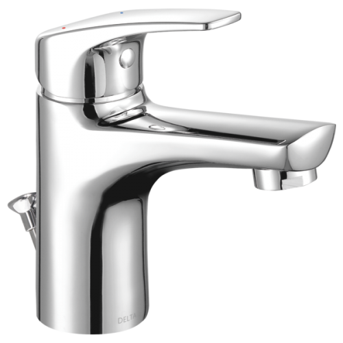 Modern Single Handle Project Pack Faucet  Metal Pop Up